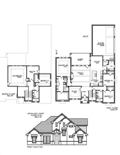 1109 Blakey Court, Hurst, TX 76053 - #: 14066550