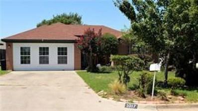 1017 Oakchase Court, Azle, TX 76020 - #: 14071661