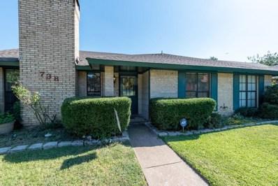 738 Holly Oak Drive, Lewisville, TX 75067 - #: 14155424