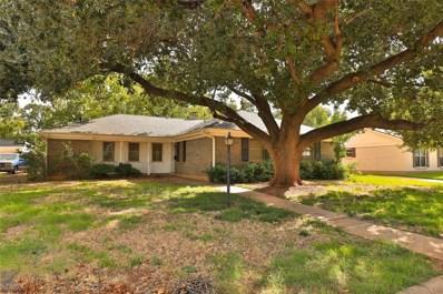 1633 Wishbone Drive, Abilene, TX 79603 - #: 14196877
