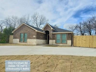 2667 Fordham Road, Dallas, TX 75216 - #: 14272757
