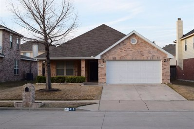 416 Iron Ore Trail, Fort Worth, TX 76131 - #: 14284624