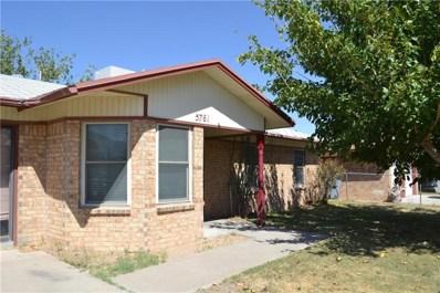5761 Corsicana, El Paso, TX 79924 - #: 755606