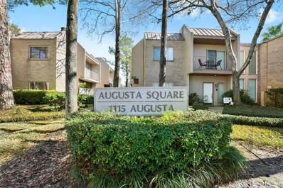 1115 Augusta Drive UNIT 16, Houston, TX 77057 - #: 11179562