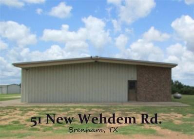 51 New Wehdem, Brenham, TX 77833 - #: 22554294