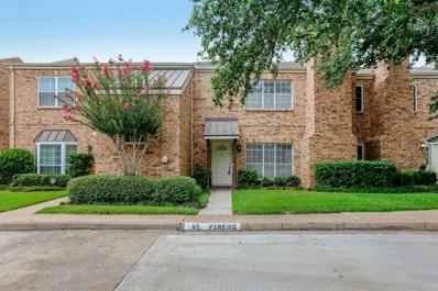600 Wilcrest Drive UNIT 40, Houston, TX 77042 - #: 33748186