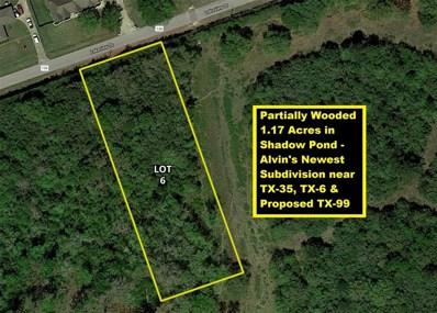 33 Lakeview Drive Lot 6, Alvin, TX 77511 - #: 34489753