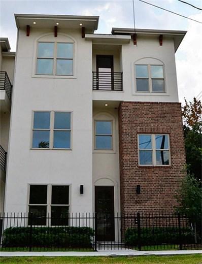 607 Jewett Street, Houston, TX 77009 - #: 45497276