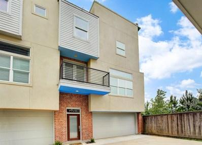 637 Rutland Street UNIT 5, Houston, TX 77007 - #: 9491089
