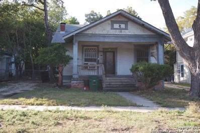 1018 Gramercy Pl, San Antonio, TX 78201 - #: 1421579