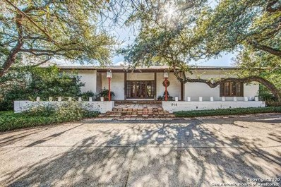 914 Eventide Dr, Terrell Hills, TX 78209 - #: 1431576