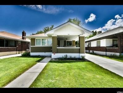 166 E Kelsey Ave S, Salt Lake City, UT 84111 - #: 1528037