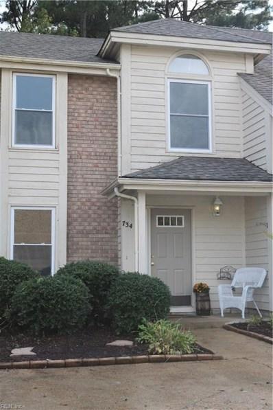 734 S Lake Circle, Chesapeake, VA 23322 - #: 10218966