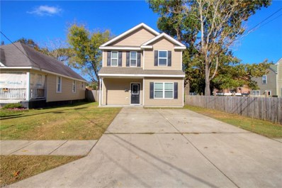 1033 Rowland Avenue, Chesapeake, VA 23324 - #: 10229886