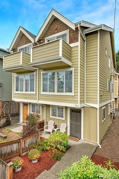 736 N 95th St UNIT B, Seattle, WA 98103 - #: 1529579